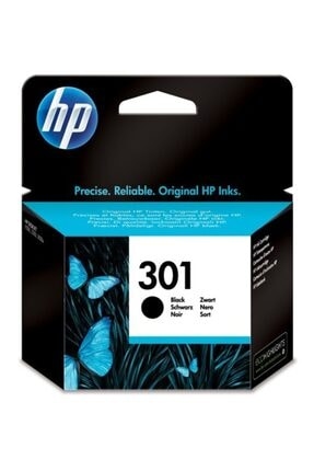 HP Ch561ee (301) Siyah Mürekkep Kartuş 0