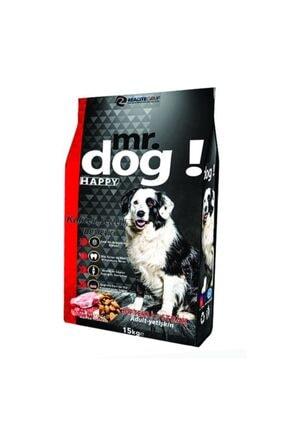 Happy Dog Mr. Dog Happy, Biftekli Köpek Maması,15 Kg 0