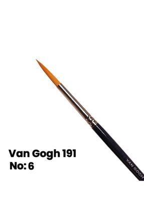 Van Gogh Sulu Boya Fırçası Yuvarlak Uçlu Seri 191 No 6 0