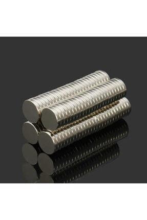 Dünya Magnet 50 Adet 10mm X 2mm Güçlü Yuvarlak Neodyum Mıknatıs (50'li Paket) 2