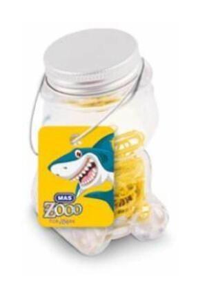Mas Zoo Cam Ayıcık Kavanozda Renkli Ataç Sarı 0