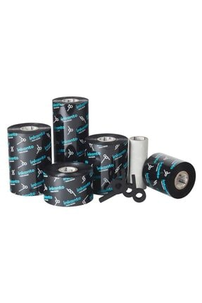 Inkanto Wax-resin Ribon Siyah 90mm X 300mt (out) 2