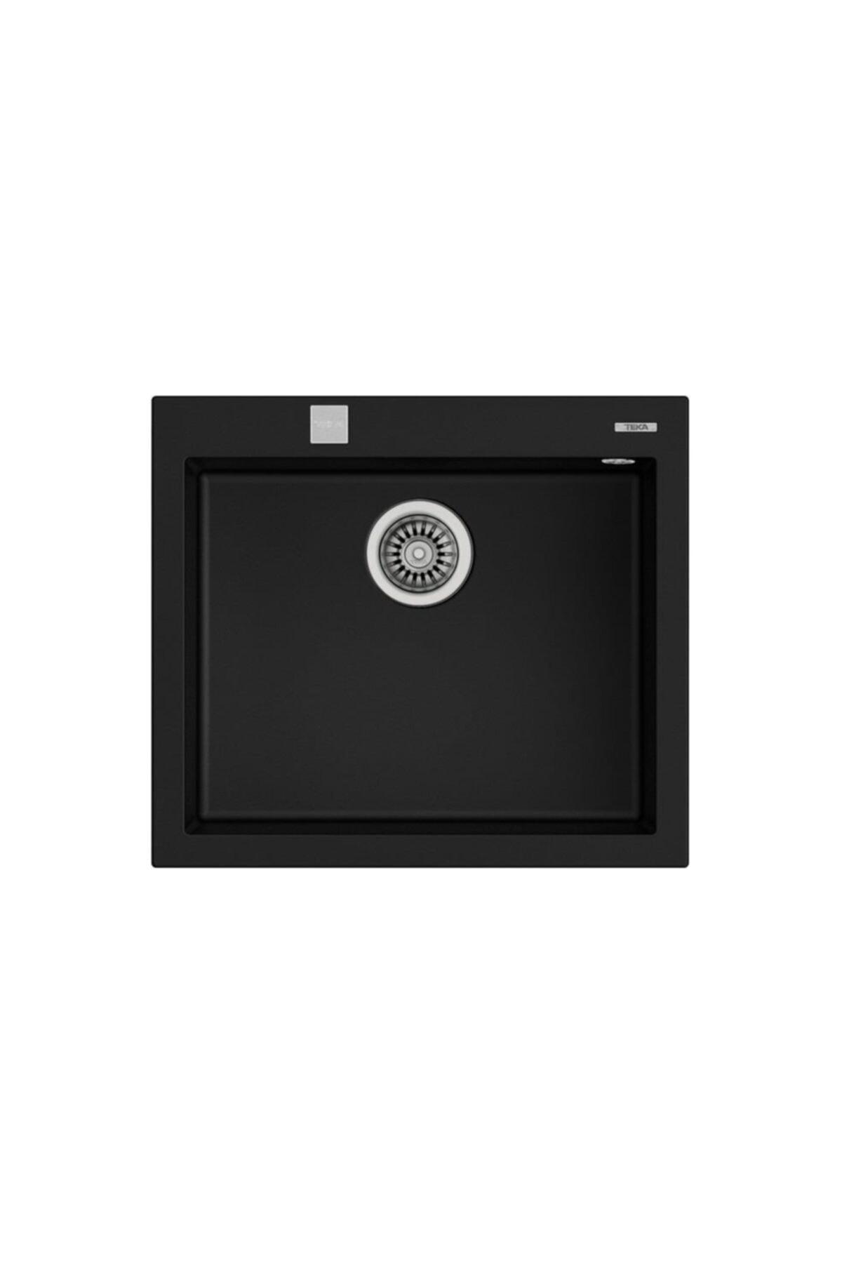 Forsquare 57x50 Tezgah Üstü Granit Evye Siyah