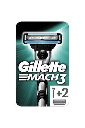 Gillette Mach-3 Tıraş Makinesi + 2 Yedek Başlık 2