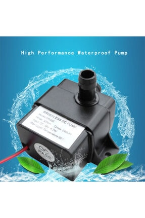 KOSECo 12 Volt Mini Dalgıç Su Ve Yağ Aktarma Pompası (240 Lt/saat) 0