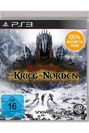 Wb Games Ps3 Der Herr Rınge Der Krıeg Im Norden - Orjinal Oyun - Sıfır Jelatin 0
