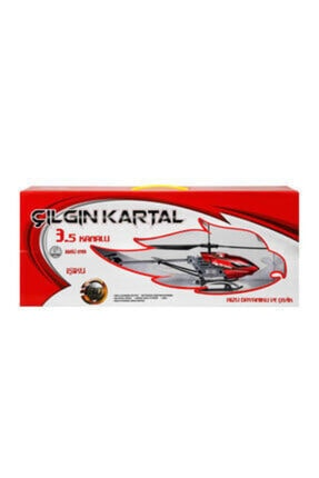 BİRLİK TOYS Birlik Yeni Çılgın Kartal Helikopter 3,5 Kanal Kırmızı 1