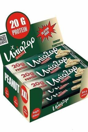 Uniq2go Peanut Xxl Protein Bar 67 Gr 12 Adet Yer Fıstığı Ezmesi 0