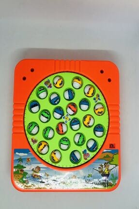 Kids Hareketli Ve Sesli Balık Tutma Oyun Seti 1