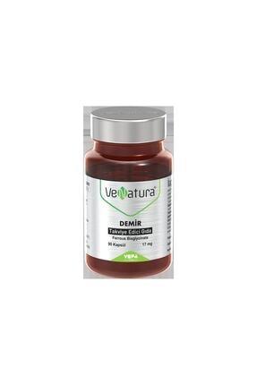 VeNatura Demir Takviye Edici Gıda 17 Mg - 90 Kapsül 0