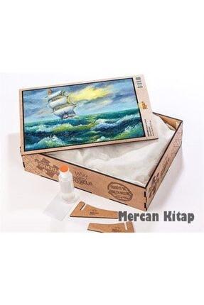 King Of Puzzle Yelkenli Ve Deniz Ahşap Puzzle 2000 Parça (mz50-mm) 1