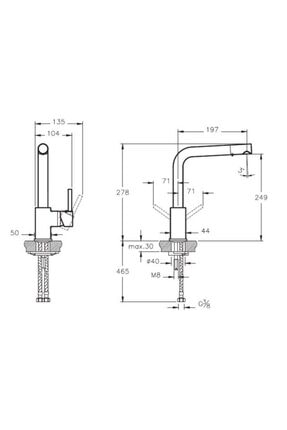 Artema Pure Eviye Bataryası Krom - A42136 1