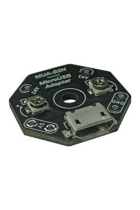 Lentark Mikro Usb Adaptör Modülü, 5v Micro-usb Besleme Kartı, Mua-b2n 0