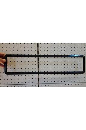 Z Tech Esnek Kırılmaz Siyah Çerçeveli Plaka Altı Çerçeve Plakalık 1 Adet 1