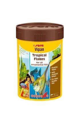 Sera Vipan Tropical Flakes Tropikal Balık Pul Yemi 100ml 22gr 0