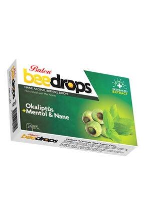 Balen Bitkisel Drops Boğaz Pastili 24 Drops Okaliptüs+mentol Ve Nane 0
