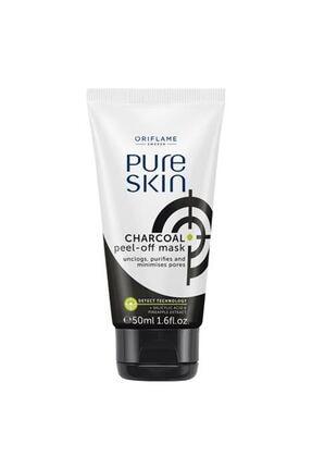 Oriflame Pure Skin Kömürlü Soyulabilen Maske 0
