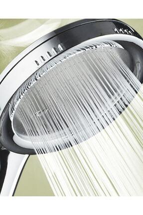 3M Duş Spa Masaj Aleti Tazyikli Tasarruflu Duş Başlığı Su Banyo Batarya 0