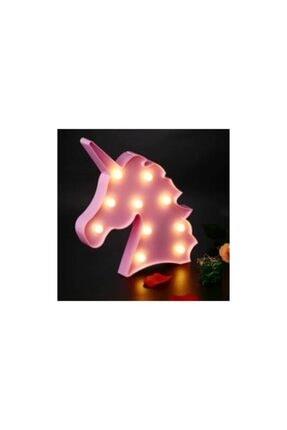 Doğuş Dogusdeco Unicorn Pembe Led Lamba - Gece Lambası - Dekoratif Aydınlatma 0