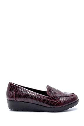 Derimod Kadın Bordo Desenli Ayakkabı 0