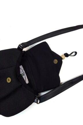 Ayşe Teyze'nin Çantaları Kadın Siyah Omuz Çantası Srn01 2