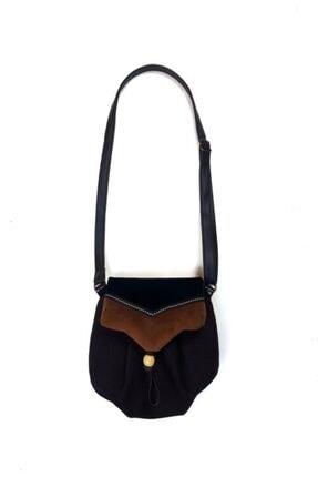 Ayşe Teyze'nin Çantaları Kadın Siyah Omuz Çantası Srn01 4