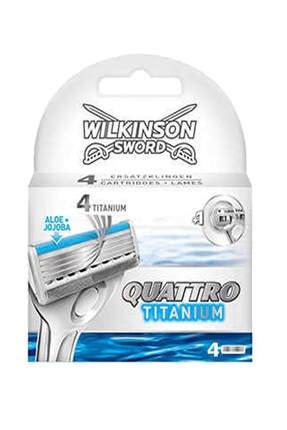 Wilkinson Quattro Titanium 4 Yedek Kartuş 0