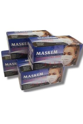 maskem Cerrahi Maske 50 Adet Ultrasonik Hijyen Belgeli 1