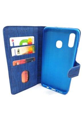 BlueGsm Samsung Galaxy J6 Plus Kapaklı Cüzdanlı Ve Kartlıklı Kılıf 1