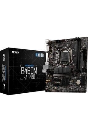 MSI B460m-a Pro Intel B460 2933mhz Ddr4 Matx Anakart 0