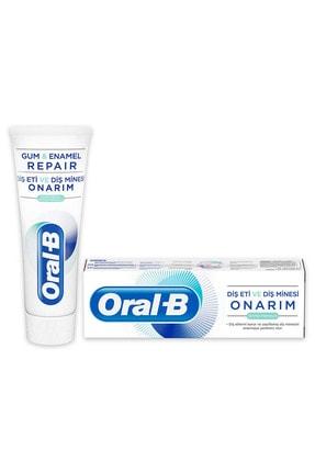 Oral-B Diş Eti ve Diş Minesi Onarım Ekstra Ferahlık 75 ml 1