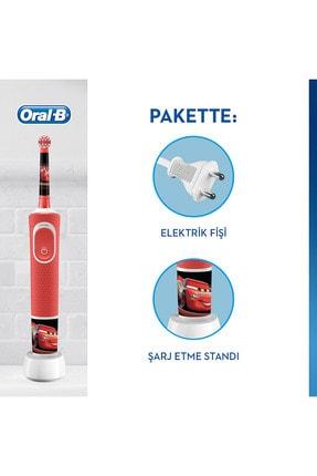 Oral-B Çocuklar Için Şarj Edilebilir Diş Fırçası D100 Cars Özel Seri 1