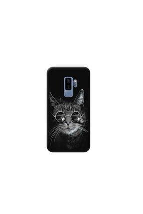 Kılıf Madeni Samsung Galaxy S9 Plus Kedi Tasarımlı Telefon Kılıfı Y-prnts029 0