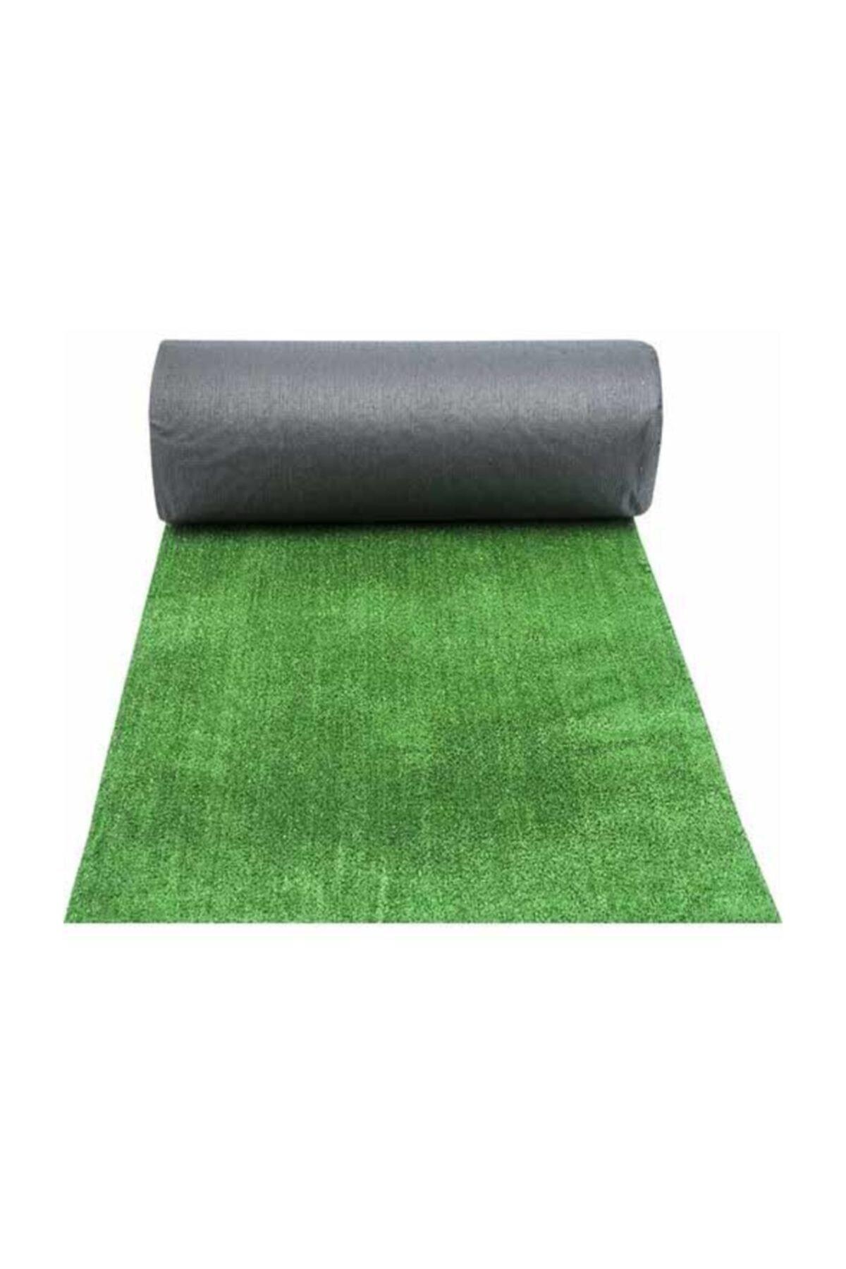 Yapay Çim Halı Yeşil 7mm Kalınlık - Eni 200cm