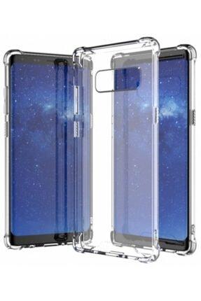 Samsung Zengin Çarşım Galaxy Note 8 Ultra Ince Şeffaf Airbag Anti Şok Silikon Şeffaf Kılıf 0