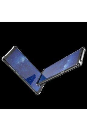 Samsung Zengin Çarşım Galaxy Note 8 Ultra Ince Şeffaf Airbag Anti Şok Silikon Şeffaf Kılıf 2