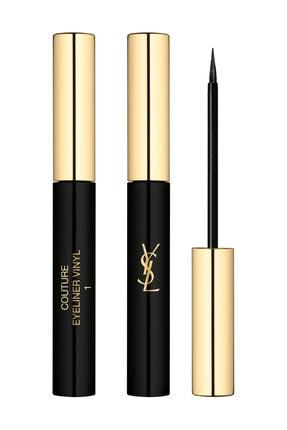 Yves Saint Laurent Couture Eye Liner 12 Saat Süren Etki Sağlayan Likit Eyelıner 1 - Noir Vinyl 3614272622951 0