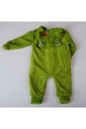 Bebibebek Nurcix Unisex Bebek 1-2-3 Yaş Sevimli Kurabağa Welsoft Uyku Tulumu 2