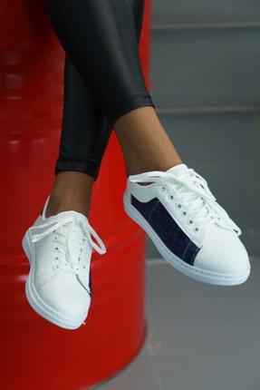Ayakkabı Modası Kadın Beyaz Spor Ayakkabı 1