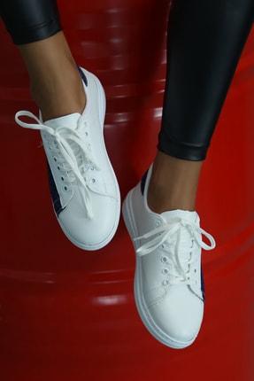 Ayakkabı Modası Kadın Beyaz Spor Ayakkabı 2