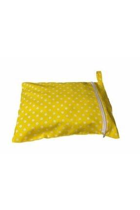 MOMSTAR Bebek Sarı Bez Çantası 2