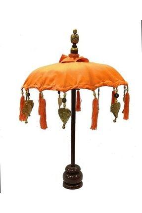 Dekoratif Şemsiye Turuncu BAMBU ŞEMSİYE TURUNCU