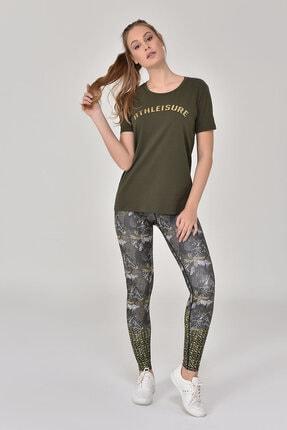 bilcee Haki Kadın T-Shirt GS-8618 1