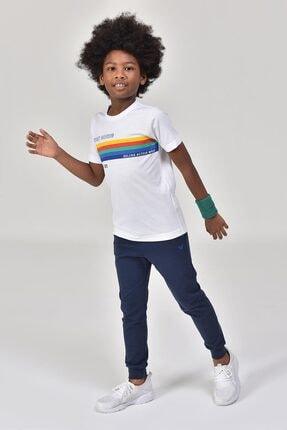 bilcee Unisex Çocuk Beyaz T-Shirt GS-8145 3