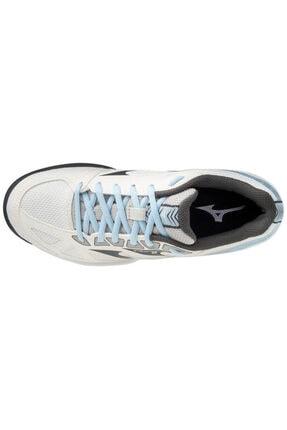 Mizuno Unısex Beyaz Mavi Voleybol Ayakkabısı 3