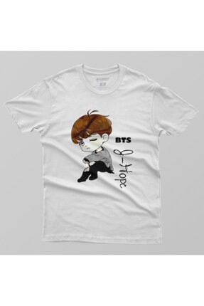 Crazy Bts J Hope Cartoon Erkek Tişört 1