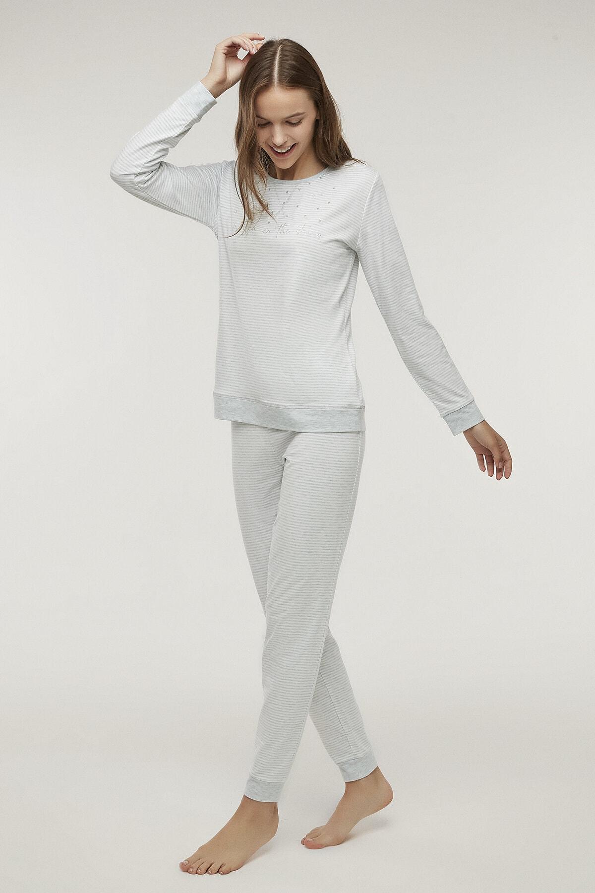 Penti Kadın Stripy Pijama Takımı 1