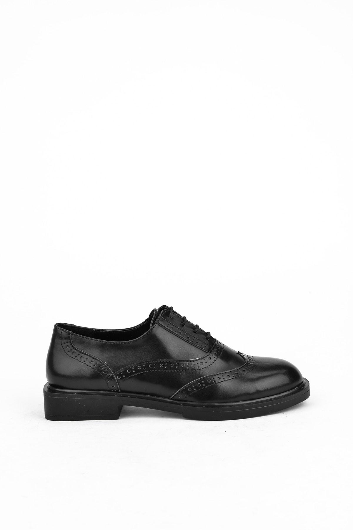Ziya Kadın Siyah Günlük Ayakkabı