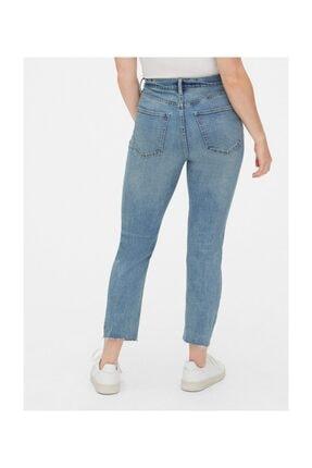 GAP Kadın Mavi High Rise Cigarette Jean Pantolon 1