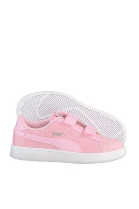 Puma SMASH V2 GLITZ GLAM Pembe Kız Çocuk Koşu Ayakkabısı 100662836 2